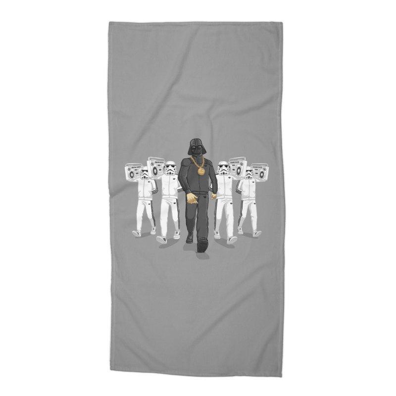 Straight Outta The Dark Side Accessories Beach Towel by dukenny's Artist Shop