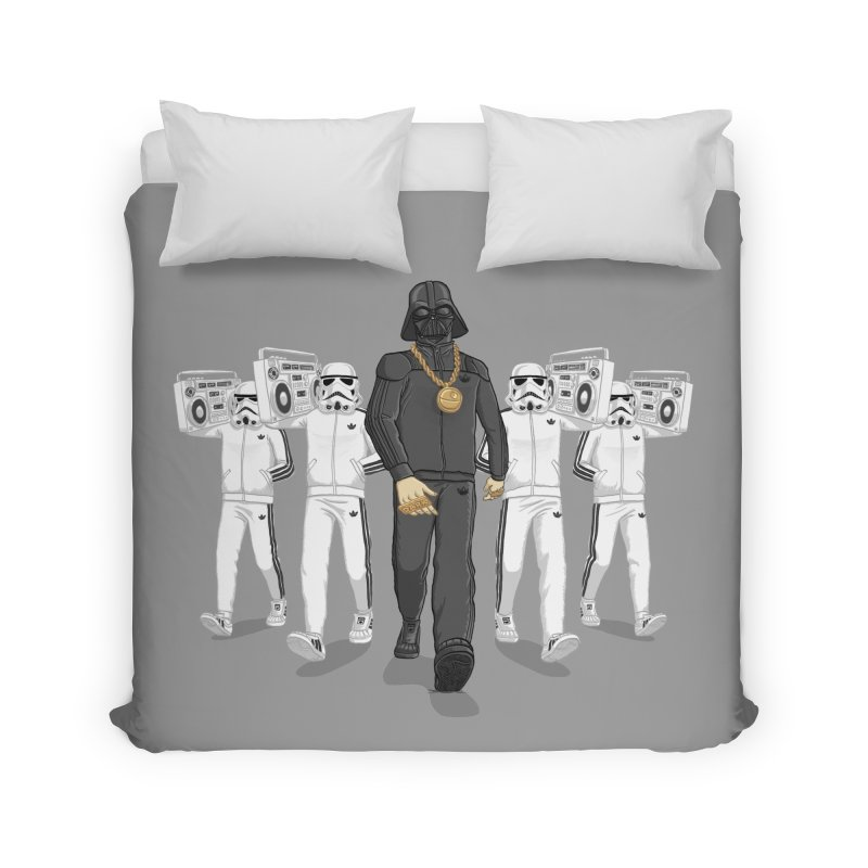 Straight Outta The Dark Side Home Duvet by dukenny's Artist Shop