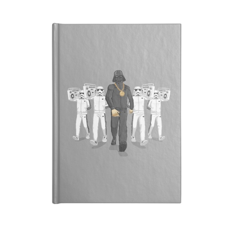 Straight Outta The Dark Side Accessories Lined Journal Notebook by dukenny's Artist Shop