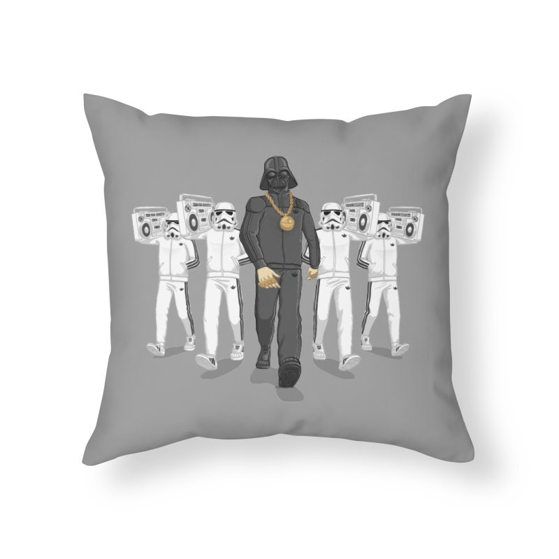 Straight Outta The Dark Side Home Throw Pillow by dukenny's Artist Shop