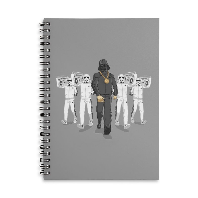 Straight Outta The Dark Side Accessories Lined Spiral Notebook by dukenny's Artist Shop