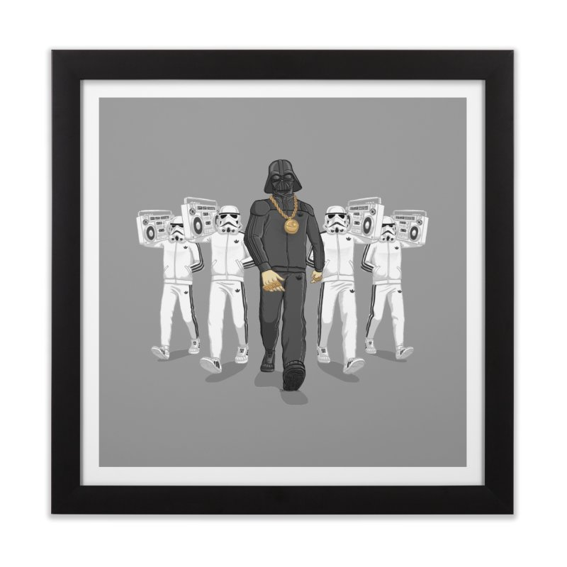 Straight Outta The Dark Side in Framed Fine Art Print Black by dukenny's Artist Shop