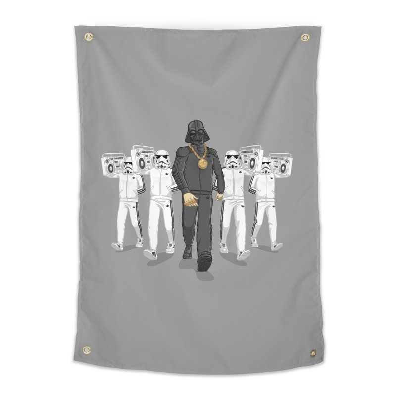 Straight Outta The Dark Side Home Tapestry by dukenny's Artist Shop