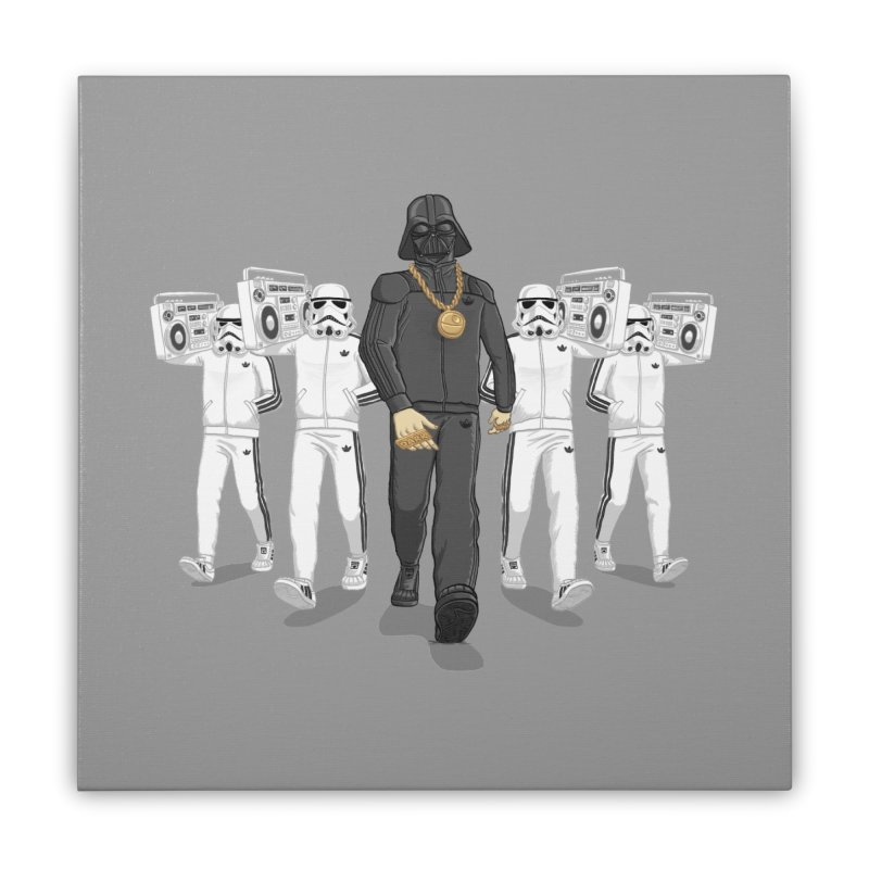 Straight Outta The Dark Side Home Stretched Canvas by dukenny's Artist Shop