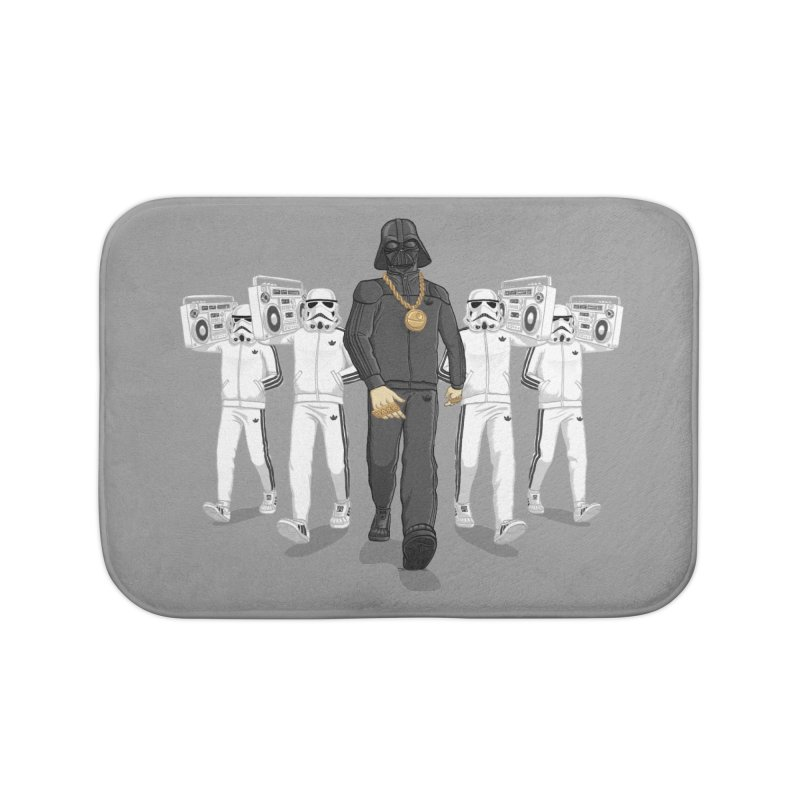 Straight Outta The Dark Side Home Bath Mat by dukenny's Artist Shop