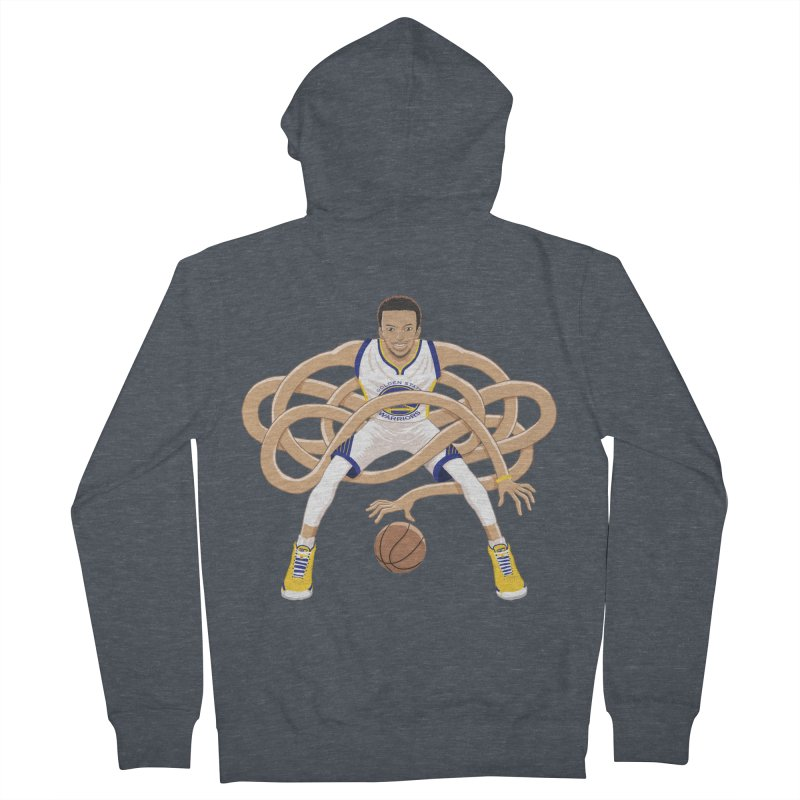 Gnarly Curry Women's French Terry Zip-Up Hoody by dukenny's Artist Shop
