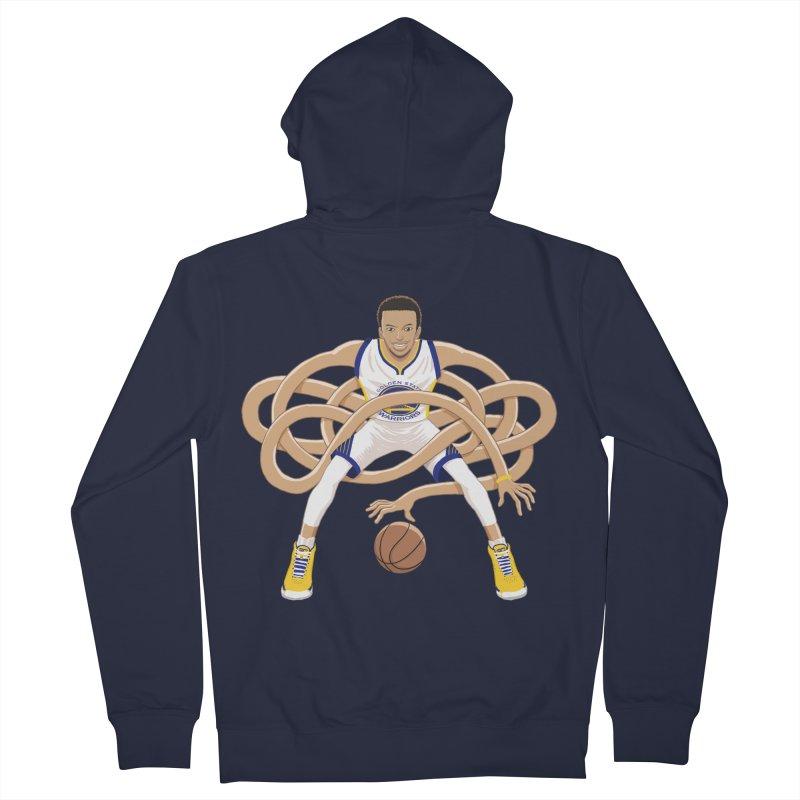 Gnarly Curry Men's French Terry Zip-Up Hoody by dukenny's Artist Shop