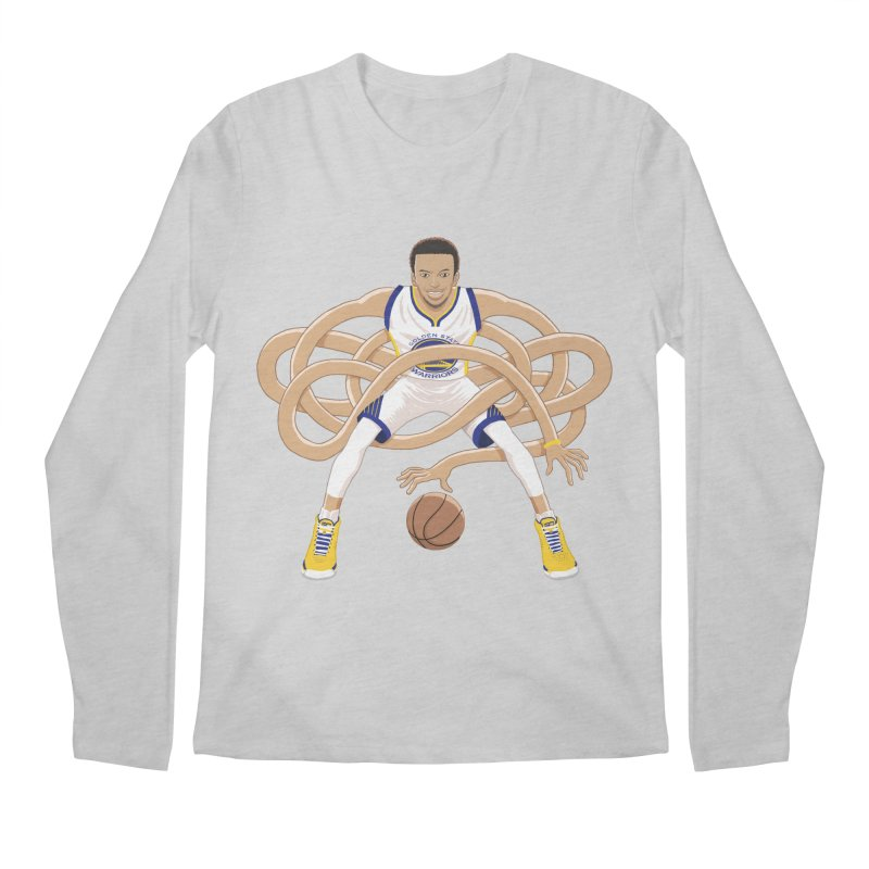 Gnarly Curry Men's Longsleeve T-Shirt by dukenny's Artist Shop