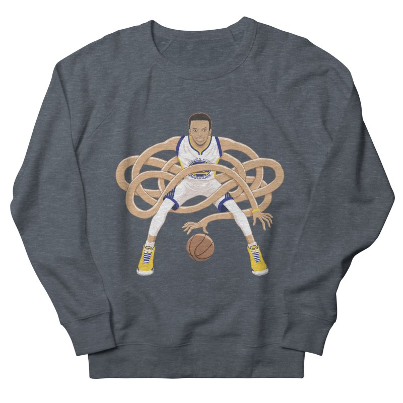 Gnarly Curry Women's French Terry Sweatshirt by dukenny's Artist Shop