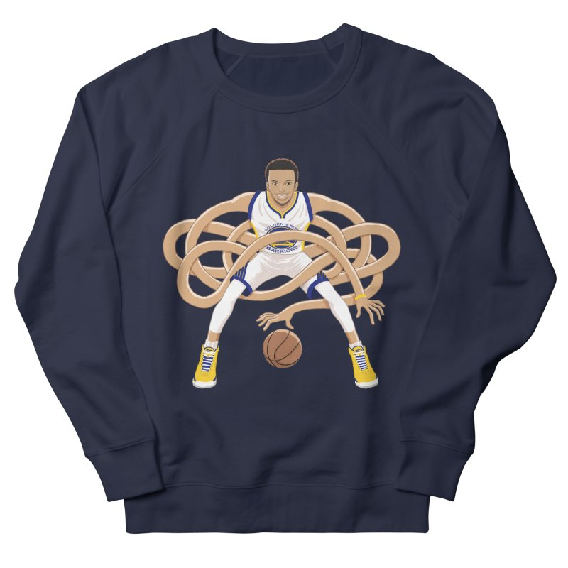 Gnarly Curry Men's French Terry Sweatshirt by dukenny's Artist Shop