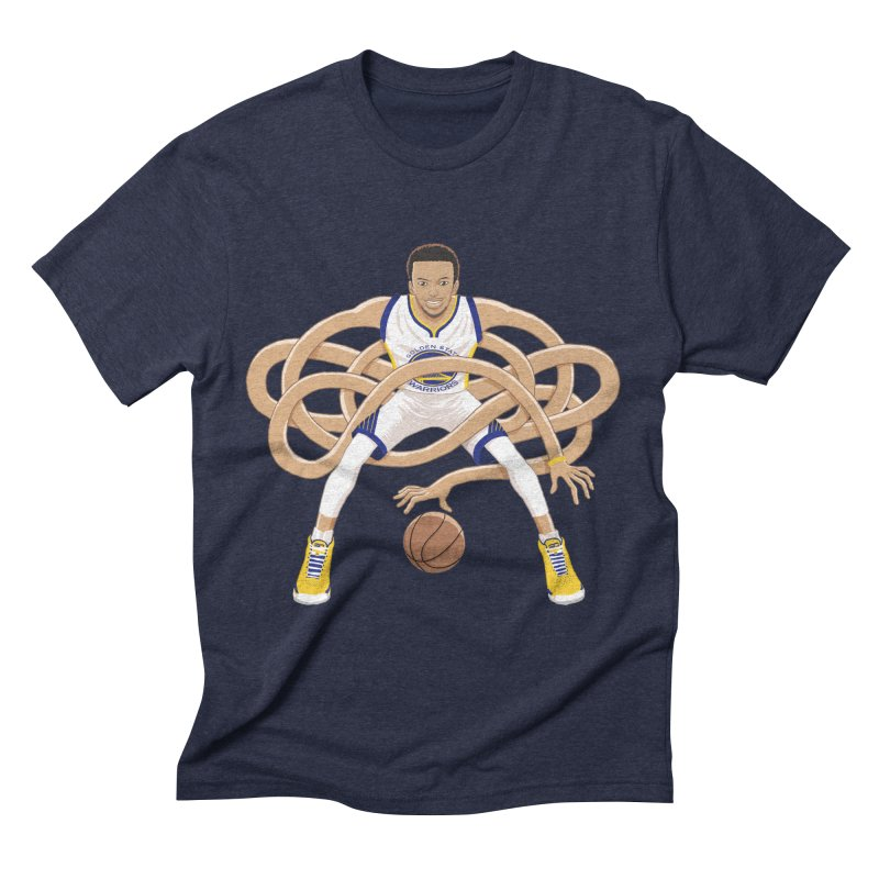 Gnarly Curry Men's Triblend T-Shirt by dukenny's Artist Shop