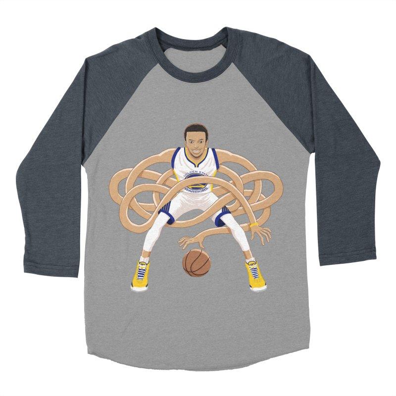 Gnarly Curry Women's Baseball Triblend Longsleeve T-Shirt by dukenny's Artist Shop