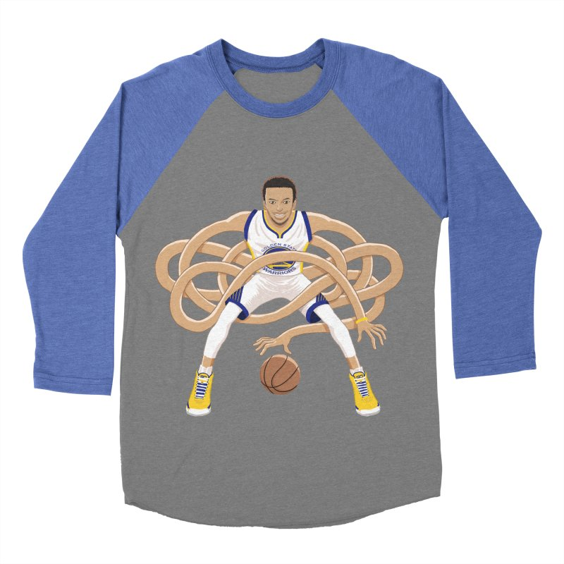 Gnarly Curry Men's Baseball Triblend Longsleeve T-Shirt by dukenny's Artist Shop