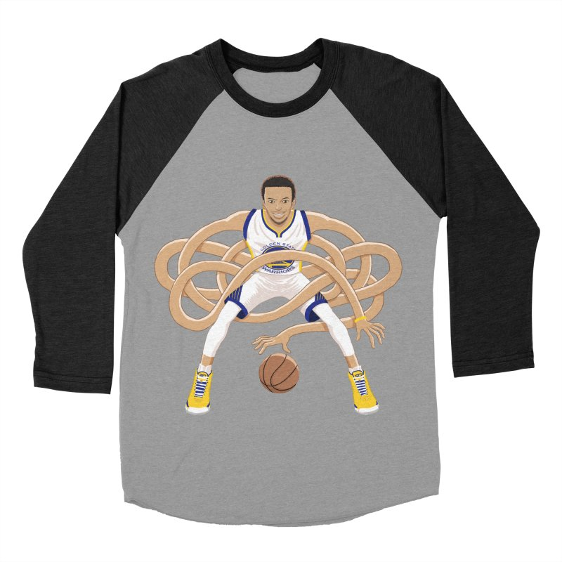 Gnarly Curry Men's Baseball Triblend Longsleeve T-Shirt by dukenny's Artist Shop