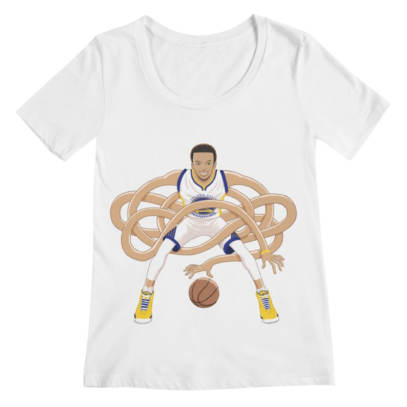 Gnarly Curry Women's Regular Scoop Neck by dukenny's Artist Shop