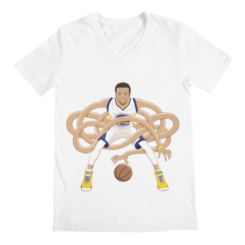 Gnarly Curry Men's V-Neck by dukenny's Artist Shop