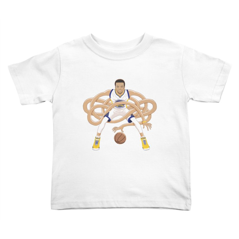 Gnarly Curry Kids Toddler T-Shirt by dukenny's Artist Shop