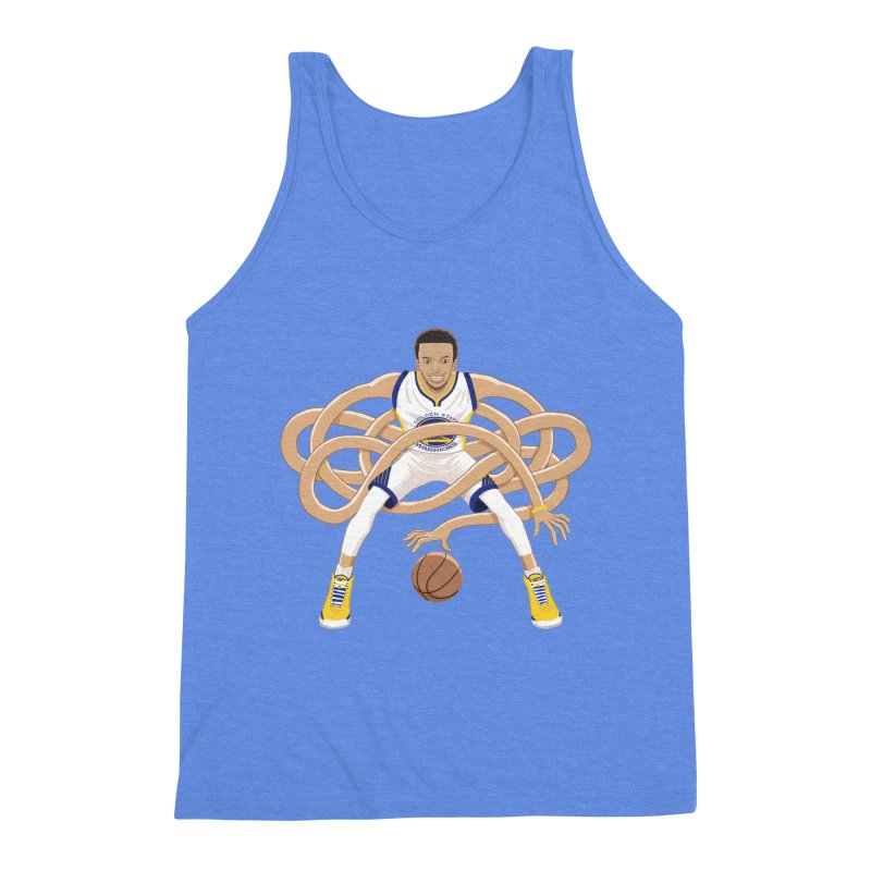 Gnarly Curry Men's Triblend Tank by dukenny's Artist Shop