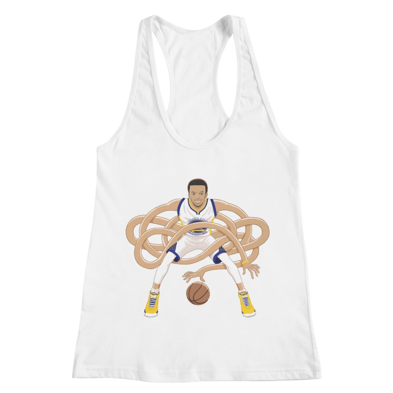 Gnarly Curry Women's Racerback Tank by dukenny's Artist Shop