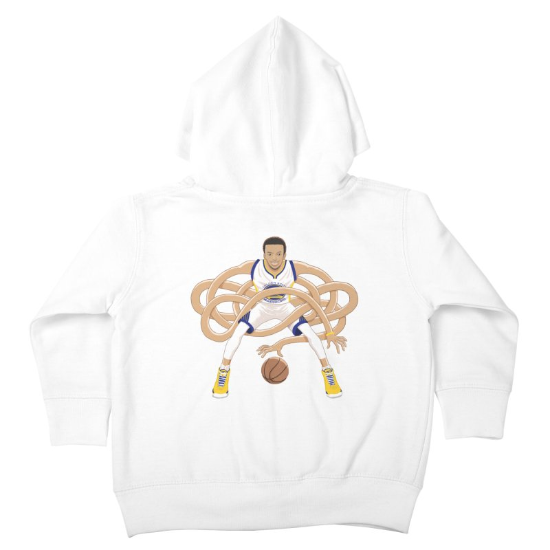 Gnarly Curry Kids Toddler Zip-Up Hoody by dukenny's Artist Shop