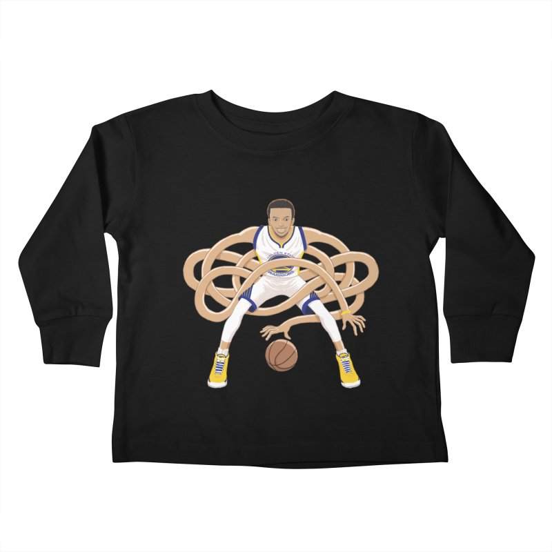 Gnarly Curry Kids Toddler Longsleeve T-Shirt by dukenny's Artist Shop