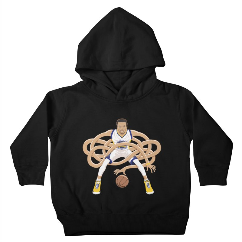 Gnarly Curry Kids Toddler Pullover Hoody by dukenny's Artist Shop