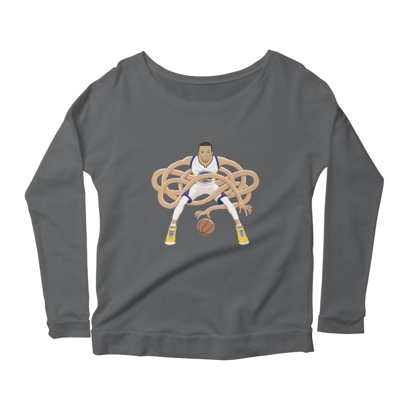 Gnarly Curry Women's Scoop Neck Longsleeve T-Shirt by dukenny's Artist Shop