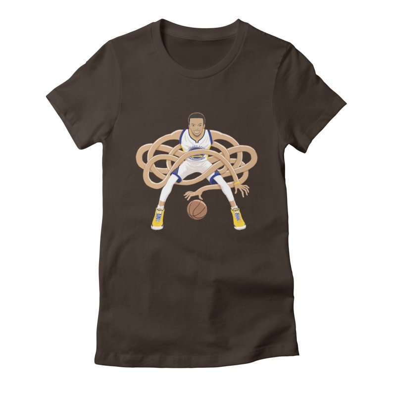 Gnarly Curry Women's Fitted T-Shirt by dukenny's Artist Shop