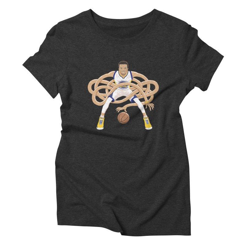 Gnarly Curry Women's Triblend T-Shirt by dukenny's Artist Shop