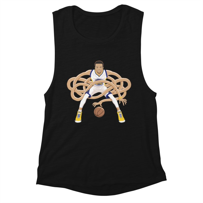 Gnarly Curry Women's Muscle Tank by dukenny's Artist Shop