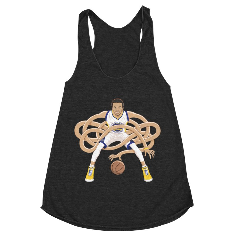 Gnarly Curry Women's Racerback Triblend Tank by dukenny's Artist Shop