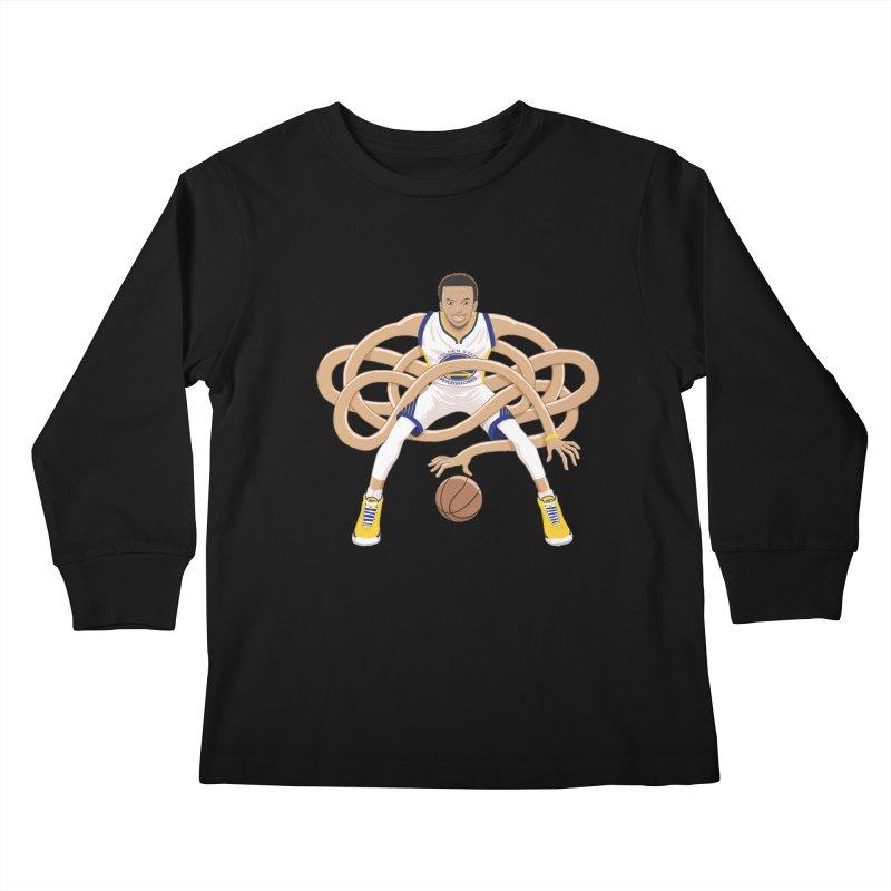 Gnarly Curry Kids Longsleeve T-Shirt by dukenny's Artist Shop
