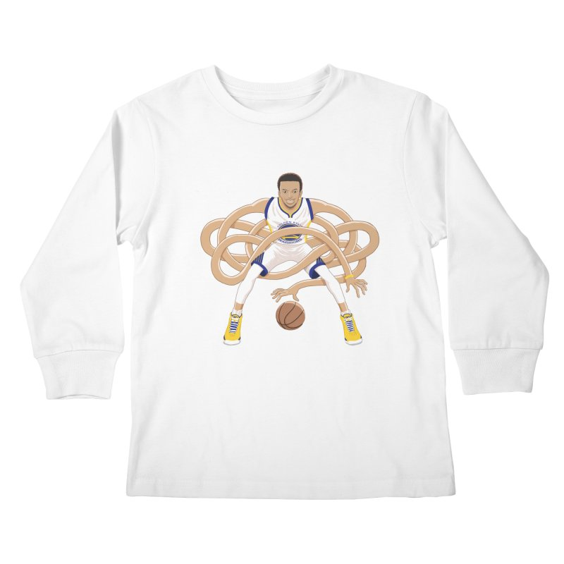 Gnarly Curry Kids Longsleeve T-Shirt by dukenny's Artist Shop