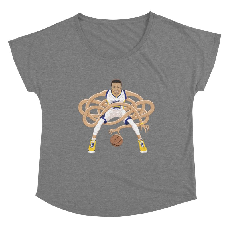 Gnarly Curry Women's Scoop Neck by dukenny's Artist Shop