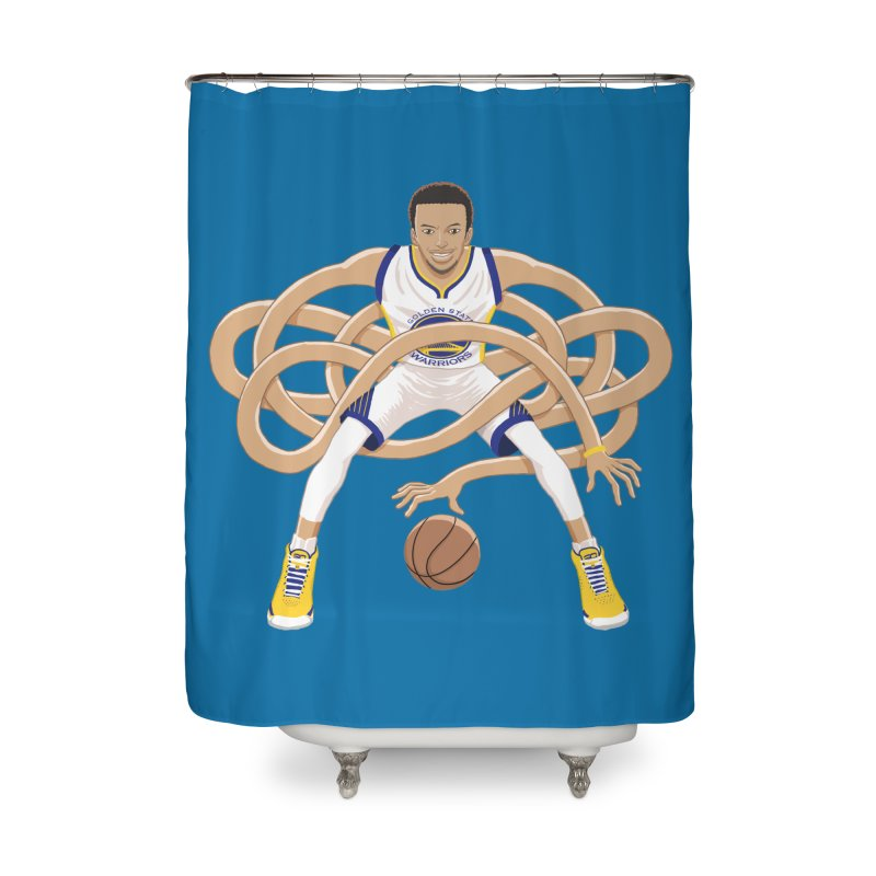 Gnarly Curry Home Shower Curtain by dukenny's Artist Shop