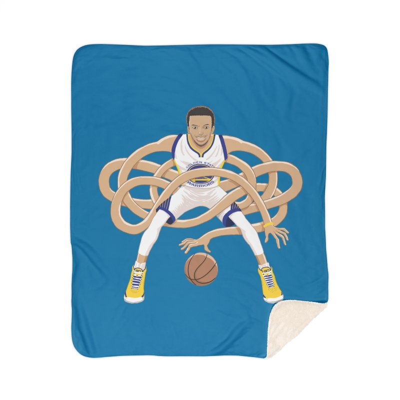 Gnarly Curry Home Sherpa Blanket Blanket by dukenny's Artist Shop