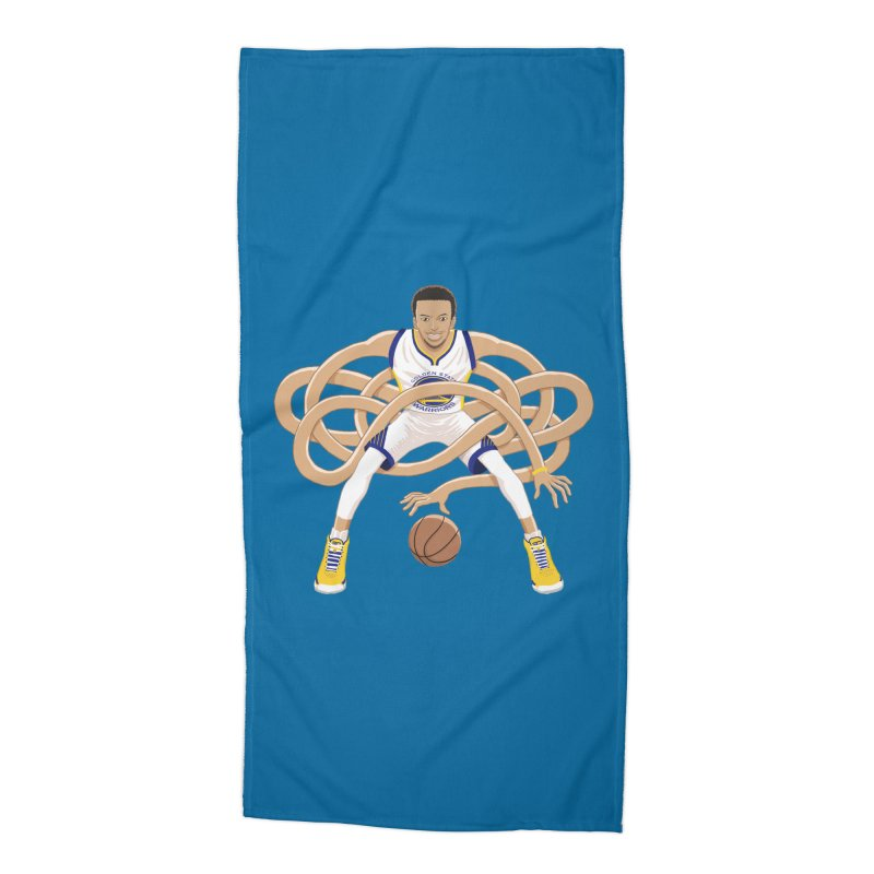 Gnarly Curry Accessories Beach Towel by dukenny's Artist Shop