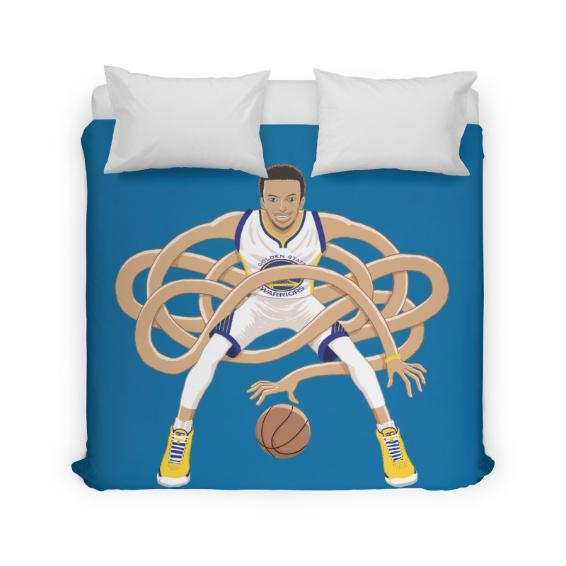 Gnarly Curry Home Duvet by dukenny's Artist Shop