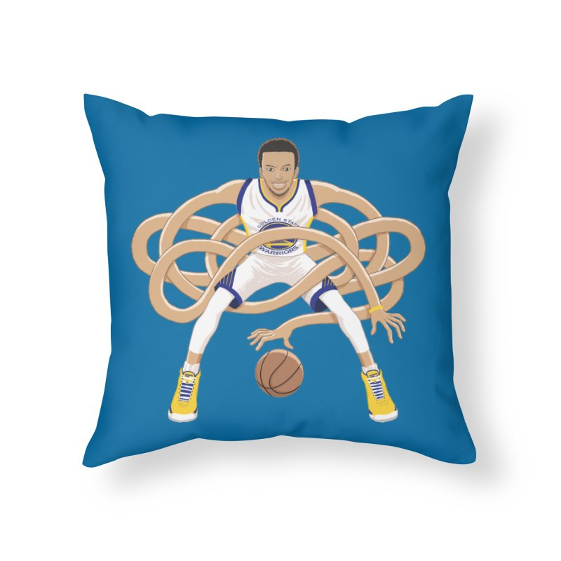 Gnarly Curry Home Throw Pillow by dukenny's Artist Shop