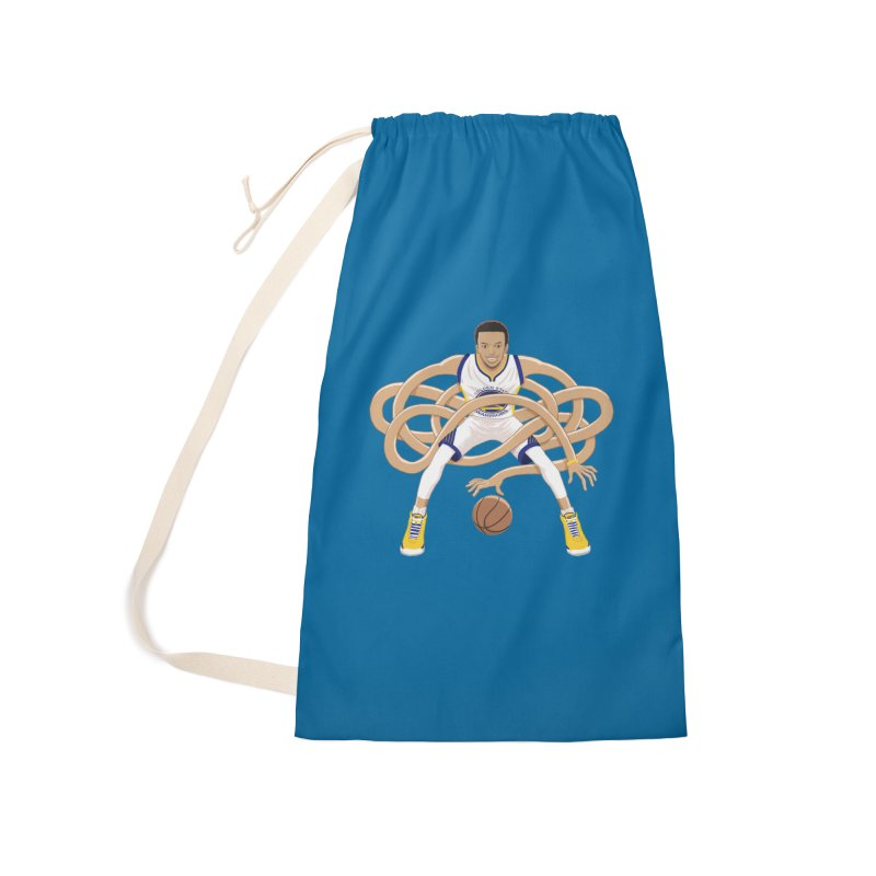 Gnarly Curry Accessories Laundry Bag Bag by dukenny's Artist Shop