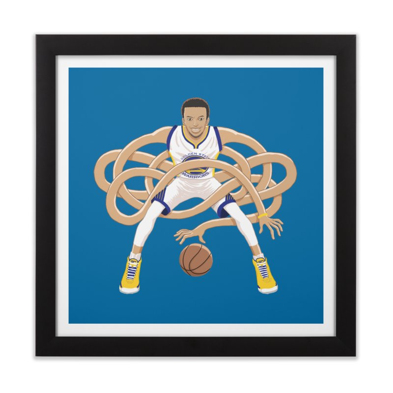 Gnarly Curry Home Framed Fine Art Print by dukenny's Artist Shop