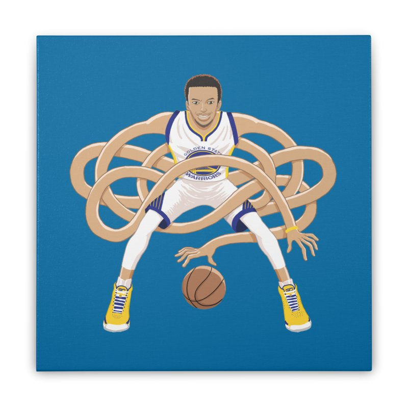 Gnarly Curry Home Stretched Canvas by dukenny's Artist Shop
