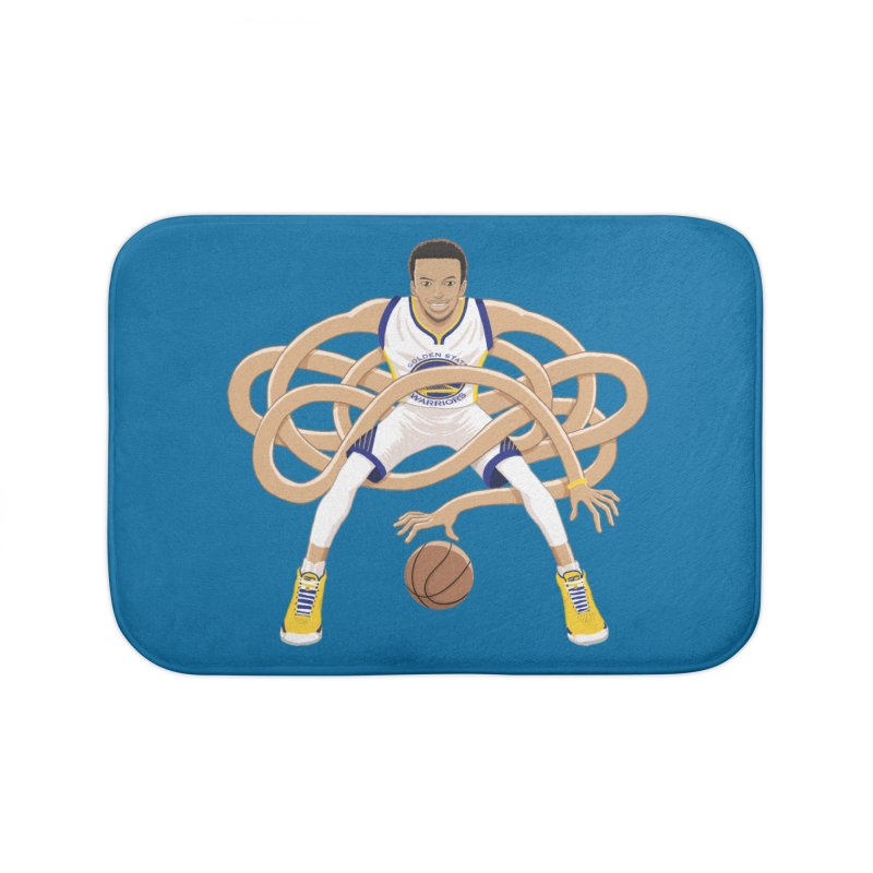 Gnarly Curry Home Bath Mat by dukenny's Artist Shop
