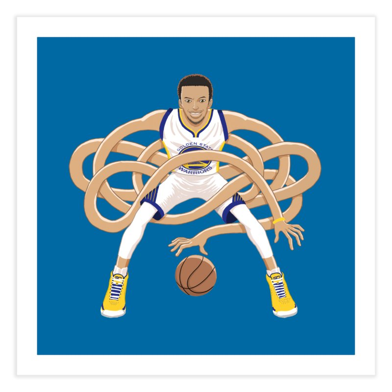 Gnarly Curry Home Fine Art Print by dukenny's Artist Shop