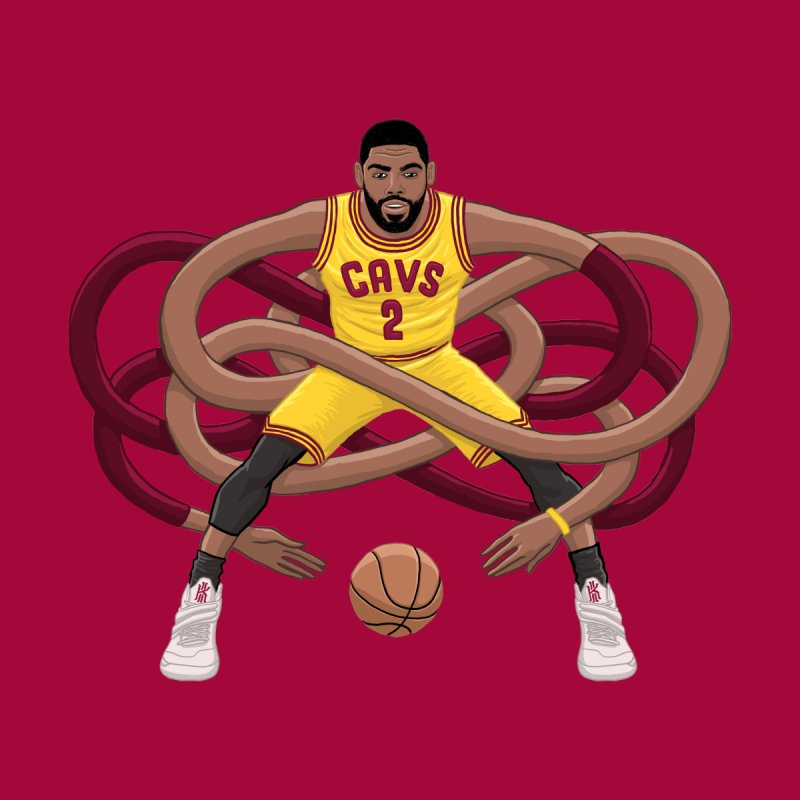 Gnarly Kyrie Kids T-Shirt by dukenny's Artist Shop