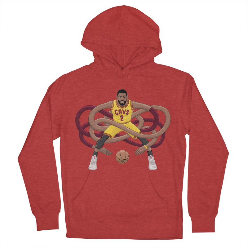 Gnarly Kyrie Men's French Terry Pullover Hoody by dukenny's Artist Shop