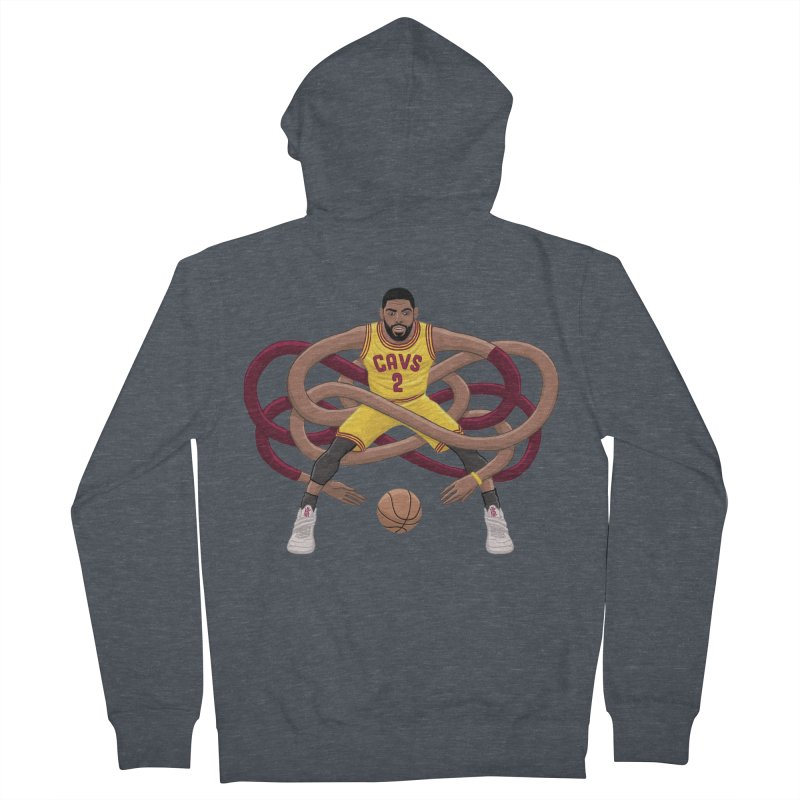 Gnarly Kyrie Women's French Terry Zip-Up Hoody by dukenny's Artist Shop