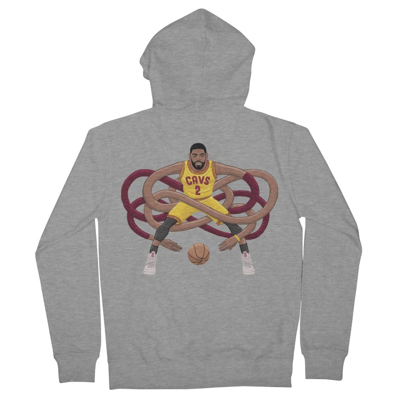 Gnarly Kyrie Women's Zip-Up Hoody by dukenny's Artist Shop