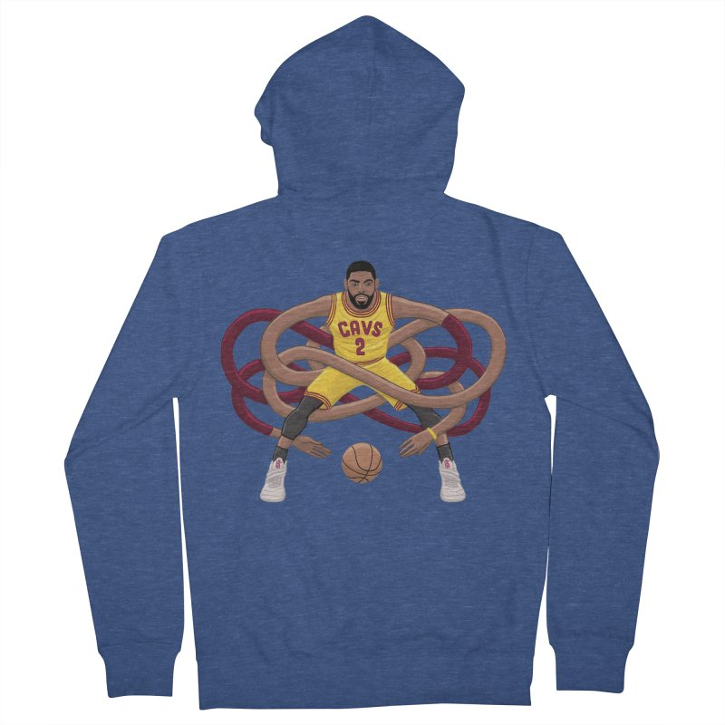 Gnarly Kyrie Men's French Terry Zip-Up Hoody by dukenny's Artist Shop