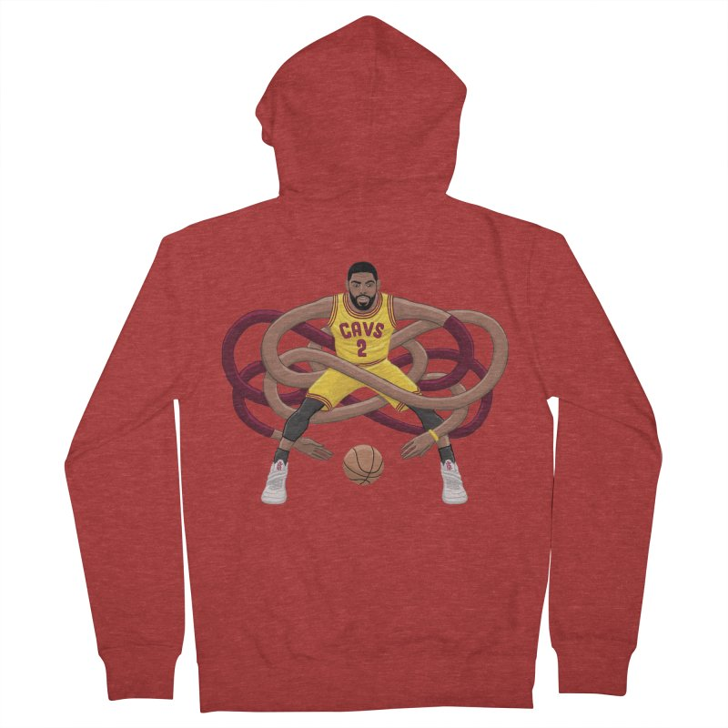 Gnarly Kyrie Men's Zip-Up Hoody by dukenny's Artist Shop